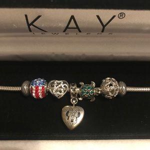 Kay Jewelers Charmed Memories Bracelet